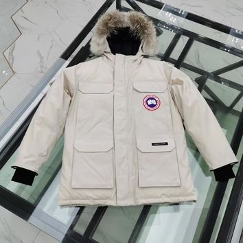 Canada goose men's / women's down jacket Fashion jack