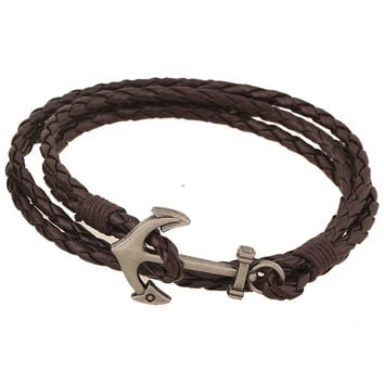 Awesome Hot Sale Gift Great Deal Shiny New Arrival Fashion Stylish Leather Bracelet Handcrafts Bracelet [6058418561]