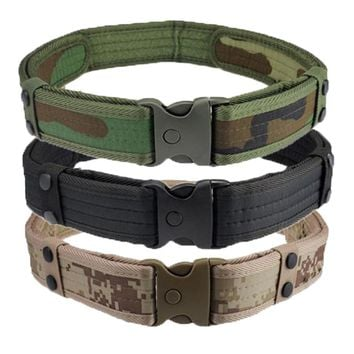 Camouflage Tactical Military-style belts
