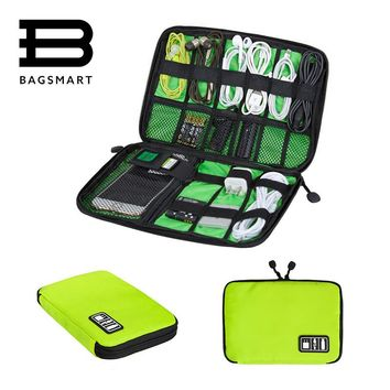 Electronic Accessories Packing Travel Bag