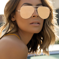 Quay x Desi - High Key Sunglasses - Gold/Gold