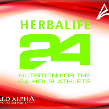 Herbalife 24 fit decal