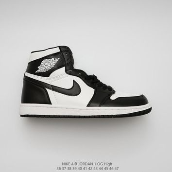 Air Jordan 1 Retro High Og Dunk High Black White