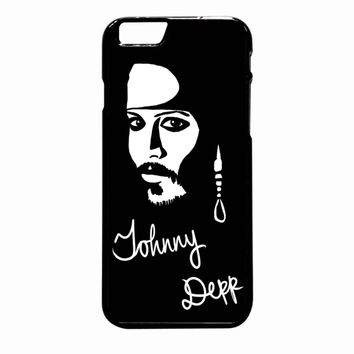 Johnny Depp iPhone 6S Plus case