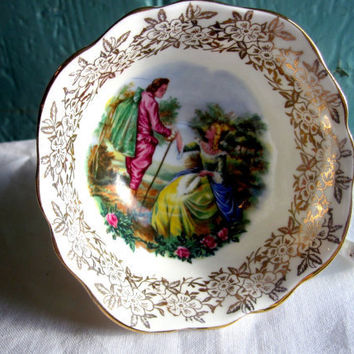 English Springfield bone china teacup Vintage by TheDorothyDays
