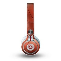 The Basketball Overlay Skin for the Beats by Dre Mixr Headphones