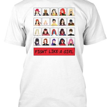 Fight Like A   Marvel   Girl