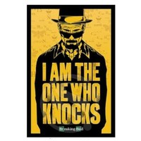G0216 Custom I Am One Knocks Poster Breaking Bad Wall Sticker Fashion Home Decoration Well Design Wallpaper