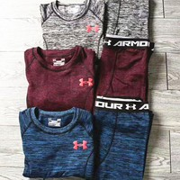 ONETOW Under Armour Warm and bottom sports suit B-ZDL-STPFYF