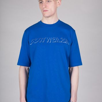 Blue Holographic Logo T-Shirt
