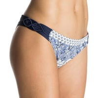 Souk Paisley Braided Scooter Bikini Bottoms 889351073754 | Roxy
