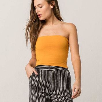 WHITE FAWN Basic Womens Tube Top