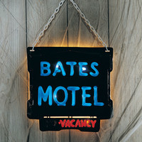 Bates Motel Lighted Wall Sign
