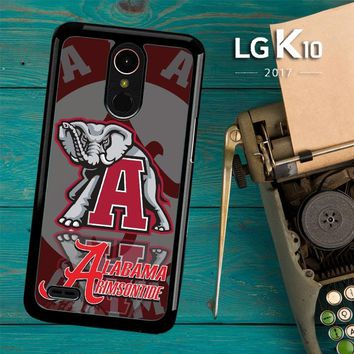 Alabama Crimson Tide X3309 LG K10 2017 / LG K20 Plus / LG Harmony Case