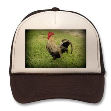 King of the Farm Mesh Hats from Zazzle.com