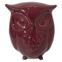 Garden Place® Owl Sculpture - Purple