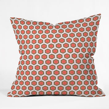Caroline Okun Frond Outdoor Throw Pillow