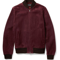 Gucci - Suede Bomber Jacket | MR PORTER