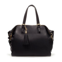 CITY BAG WITH TASSEL - Hand bags - Handbags - Woman - ZARA United States