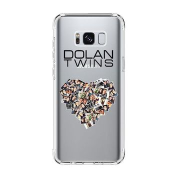 DOLAN TWINS LOVE COLLAGE Samsung Galaxy S4 S5 S6 S7 Edge Clear Case