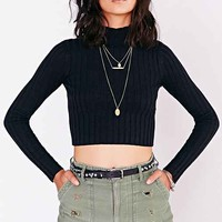 Kimchi Blue Warm Up Ribbed Turtleneck Sweater-