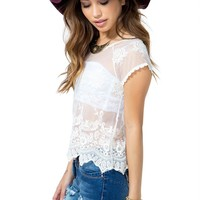 54th Street Crochet Top