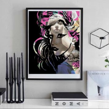 Lady Gaga Wall Art  | Lisa Jaye Art Designs