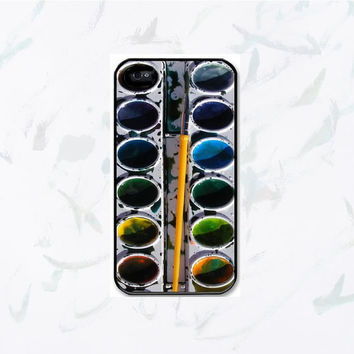 Watercolor paint set iPhone 4, iPhone 4s Painting Kit - iphone 5 cases  Cool iPhone Cases- Cool iPhone Cases- iPhone 4 iPhone 4s - - Case