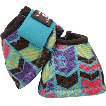 Classic Equine Love Letters No-Turn DL Bell Boots