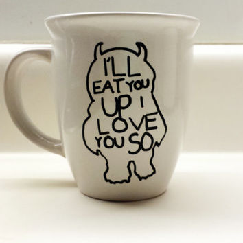 Where the Wild Things Are- I'll Eat You Up I Love You So 14 oz Mug