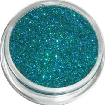 Teal Holographic Glitter by CALLACosmetics on Etsy