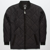Lost The Bomb Mens Jacket Black  In Sizes