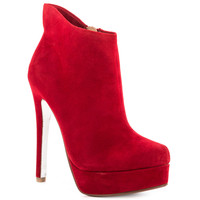 Kristin Cavallari - Lavish - True Red Suede