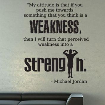 CREYUG7 Vinyl Wall Decal Sticker Michael Jordan Quote #OS_DC525