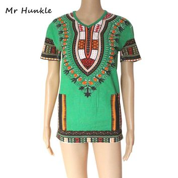 African Clothing Dashiki Printed T-shirt