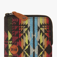 Mi-Pac Coin Holder - Aztec Weave Black