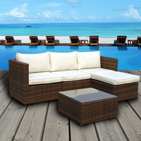 Emerald Bay Collection - Corner Sectional Sofa Patio Set Cushions Only