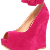 Luichiny Women's Roll Call Ankle-Strap Pump