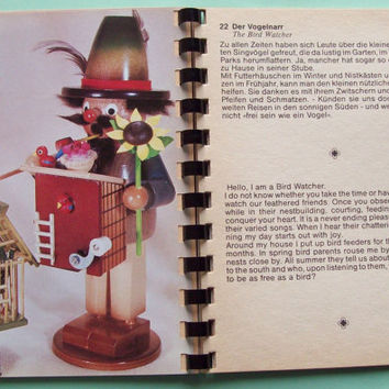 Steinbach Golden Book for Collectors of Smoking Men Incense Burners, West Germany Vintage, Old