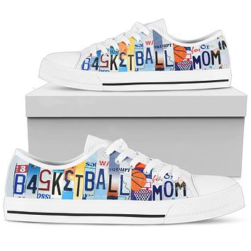 Basketball Mom Low Top Shoes