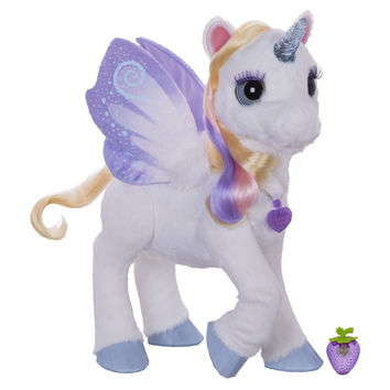FurReal Friends StarLily My Magical Unicorn Frustration-Free Packaging