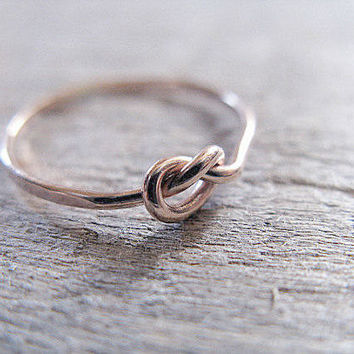 Knot Ring 14k Rose Gold Filled