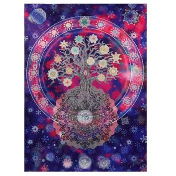 Mandala Tree of Life Beach Blanket
