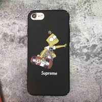 The Simpsons x Supreme Cell Phone Cases For iPhone6 6s 6Plus 6sPlus For iPhone7 7Plus