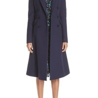 Altuzarra Wool Blend Double Breasted Coat | Nordstrom