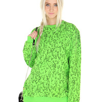 SLIME TIME SWEATSHIRT - One