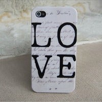 gryxh300202 Art color shell love case for iphone 4/4s