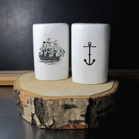 Ahoy Salt and Pepper Shakers
