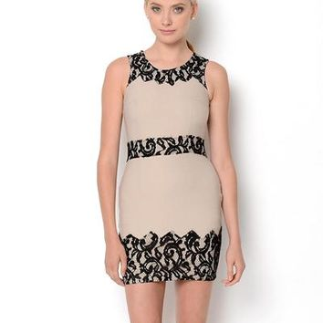 Love Point Embroidered Lace Dress - Find Your Perfect-Shape Dress from $15 - Modnique.com