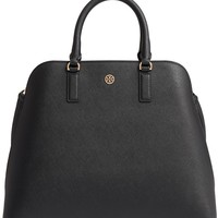 Tory Burch Robinson Leather Dome Satchel | Nordstrom